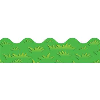 Grass Scalloped Border by Carson Dellosa: Border/Trimmer: K12SchoolSupplies.net