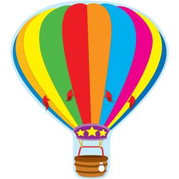 Hot Air Balloon Two Sided Decorations by Carson Dellosa: Two Sided Decorations ...