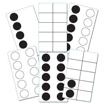 ten frame activity cards elp626646 essential learning