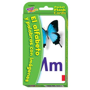 Pocket Flash Cards Spanish Alpha by Trend Enterprises ...