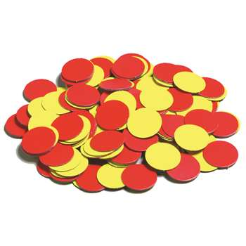 Magnetic Two Color Counters By Learning Advantage