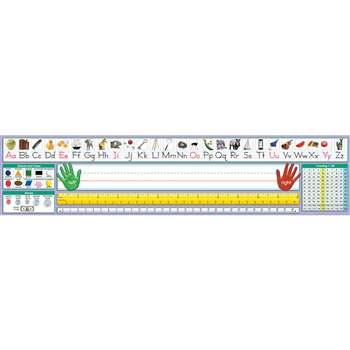 Traditional Manuscript Desk Plate 17 1 2 X 4 36pk By North Star Teacher Resource Name Plates K12schoolsupplies Net