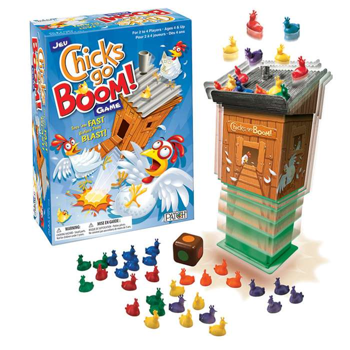 chicks go boom game pat26764 patch products games k12